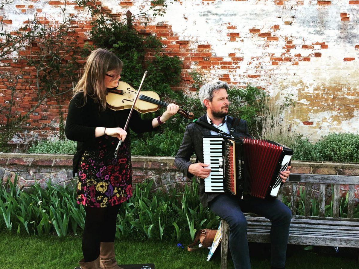 Erin Brown & Barry Watson Fiddle & Accordion Folk Duo