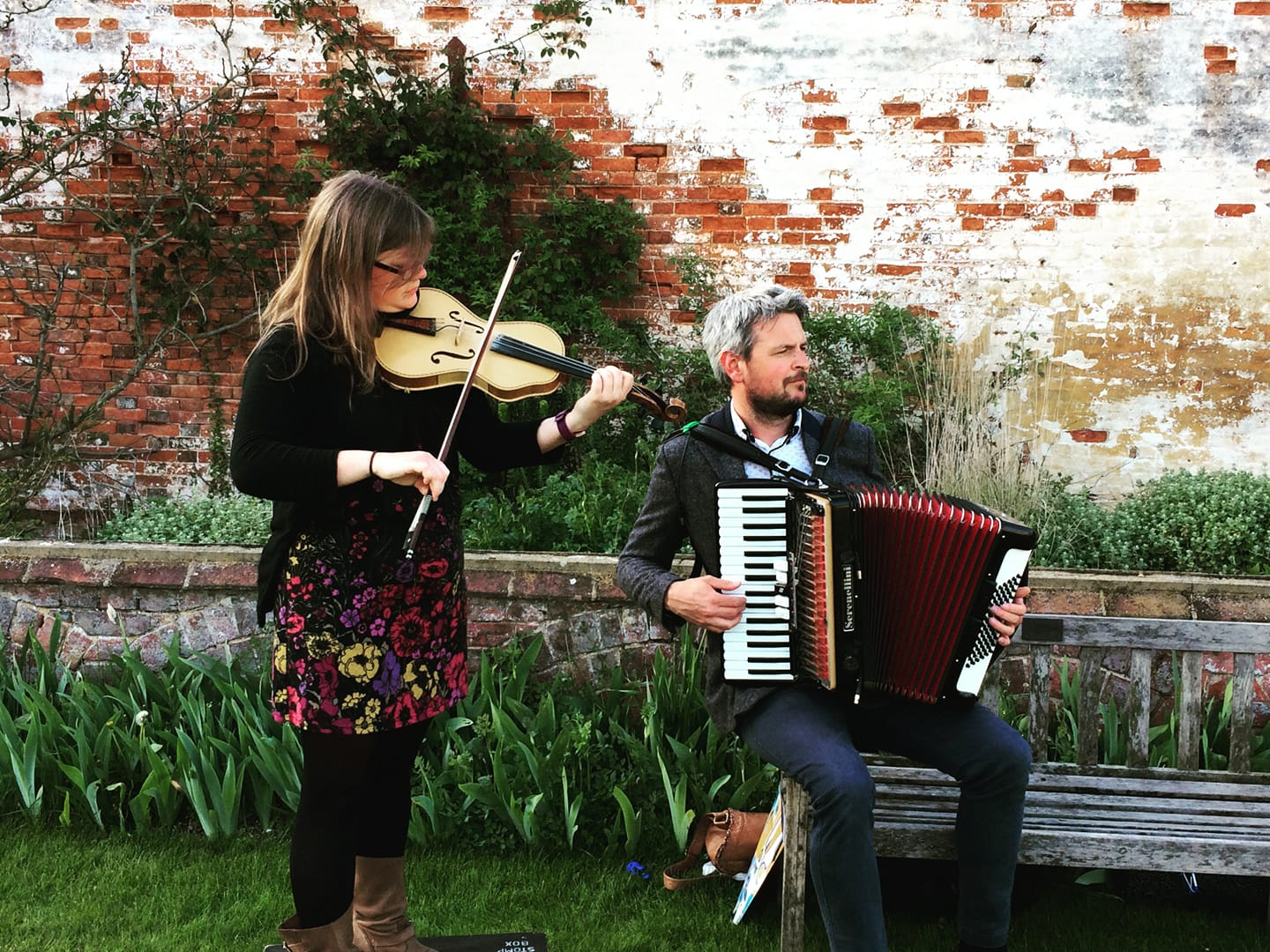 Erin Brown & Barry Watson Fiddle & Accordion Folk Duo